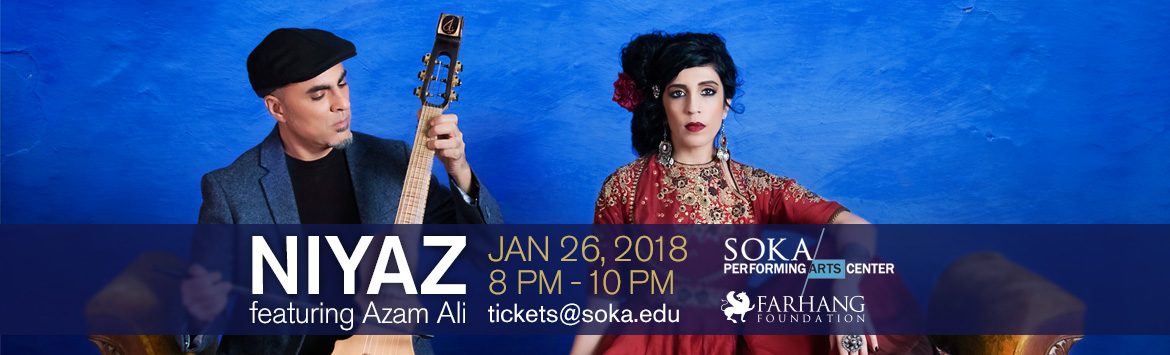 Middle Eastern Music with Niyaz featuring Azam Ali-Concerts